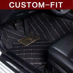 Custom fit car floor mats for Kia Sorento Sportage Optima K5 Forte K2 Cerato K3 Soul Cadenza Carens 3D car styling liner #Affiliate