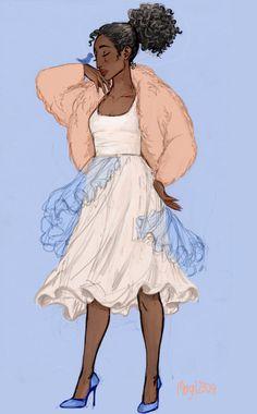Winter contemporary fashion