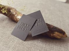 Think Bold Business Card