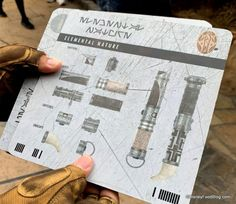 Guests in Star Wars: Galaxy's Edge can visit Savi's Workshop to customize and build their very own lightsaber as part of an interactive experience. Custom Lightsaber, Build Your Own Lightsaber, Star Wars Poster, Star Wars Art, Star Trek, S Star, Lego Star, Toy Story Buzz Lightyear, Star Wars Light Saber