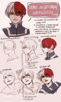 Todoroki Shouto Künstler - kkumri You are in the right place about People Digital Painting Tutorials, Digital Art Tutorial, Art Tutorials, Digital Paintings, Poses References, Drawing Expressions, Drawing Techniques, Drawing Tips, Drawing Reference Poses