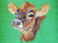 Silk Shading by Diploma student Marie Trippett, Royal School of Needlework