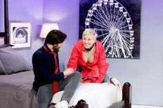 Ellen DGeneres hizo la mejor parodia de 50 Sombras más oscuras. Incluyó en ésta a Mr. Grey