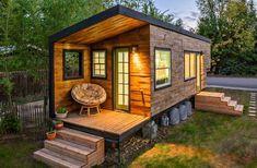 Ein Haus aus Paletten