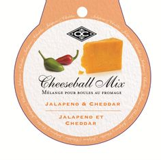 CHEESEBALL/JALAPENO & CHEDDAR Canadian Gifts, Jalapeno Cheddar, Cheese Ball, Gift Guide, Appetizers, Kitchen, Food, Cooking, Meal
