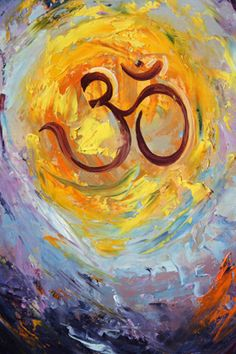 Om: sacred sound of the universe; vibrates through all existence, reminds us of our own ability to find inner peace