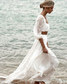 On Trend: 12 Bridal Separates - Breaking The Rules ❤ breaking the rules bridal separates boho beach grace love lace #weddingforward #wedding #bride #weddingoutfit #bridaloutfit #weddinggown