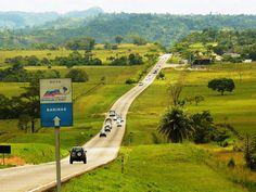 Carretera en el Estado Barinas, #Venezuela