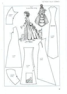 Foro de casas de muñecas y miniaturas :: Ver tema - Patrones de vestidos: