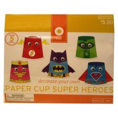 Craft Kit EV SUMMER Foam Superhero--for Superman Day