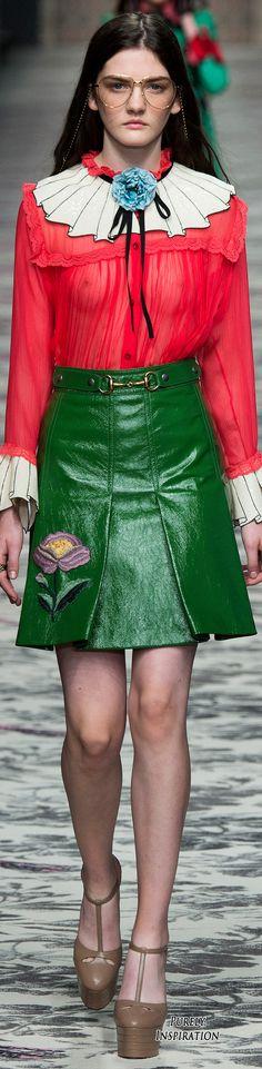 Gucci SS2016 Women's Fashion RTW | Purely Inspiration