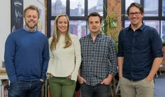 Vinomofo founders Justin Dry (left) and Andre Eikmeier (right) with Nourissh cofounders Amanda Campbell and Scott Julian. Say You, Did You Know, Amanda Campbell, Melbourne Food, Business Inspiration, Feel Better, Whole Food Recipes, Knowing You, Investing