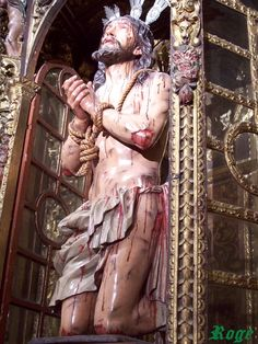 Santísimo Cristo de la Caridad (Capilla de San Jorge, Sevilla) - Pedro Roldán