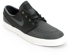 82 Nike Coupons for up to off your Christmas gift shopping Nike SB Stefan  Janoski PR SE Black Leather Skate Shoes f6a237f90