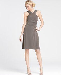 Jersey Halter Bridesmaid Dress
