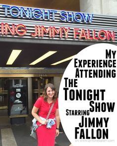 My Experience Attending The Tonight Show Starring Jimmy Fallon on www.girllovesglam.com