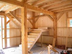 A gallery of barns and other agricultural buildings. post and beam construction, mortise and tenon joinery, luxury horse stables and solid wood timbers. Attic Apartment, Attic Rooms, Attic Spaces, Attic Playroom, Attic House, Attic Loft, Garage Attic, Attic Office, Attic Library