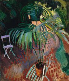 La pequeña palmera, Raoul Dufy