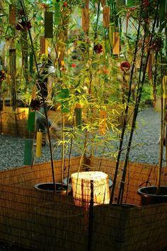 七夕 京都 貴船神社の七夕ライトアップ。 Traditional Japanese Kimono, Japanese Colors, Snow In Japan, Japanese Wind Chimes, Beautiful Places In Japan, Star Festival, Zen Garden Design, Japanese Festival, Wonderful Dream