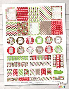 Planner - Christmas holiday theme