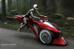 MoonRider by Marko Design, hybrid motorcycle, electric bike