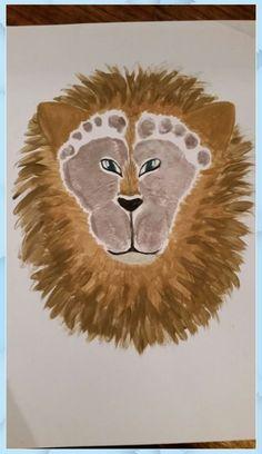 Kids Crafts, Daycare Crafts, Baby Crafts, Toddler Crafts, Preschool Crafts, Arts And Crafts, Baby Footprint Crafts, Daycare Rooms, Safari Crafts