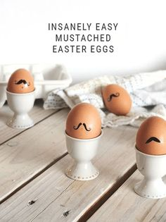 Absurdly Easy Last Minute Easter Eggs - Make your spring egg hunt extra cheeky and cute for kids and adults alike with this super simple tutorial using temporary tattoos. Who knew you could tattoo an egg?!