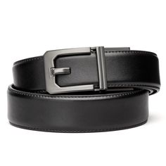 Custom 1//6 Scale Highly Details Double Line Sewed Black Leather Belt X2