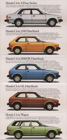 Honda Civic 1972 1983