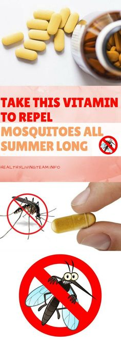 Take This Vitamin to Repel Mosquitoes All Summer Long