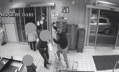 VIDEO / MOLFETTA, RAPINA UN SUPERMERCATO ARMATO DI MANNAIA. INCASTRATO DAL DNA