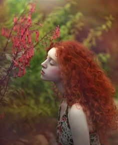 Ophidia by Agnieszka Lorek Beautiful Red Hair, Beautiful Redhead, 3 4 Face, Ginger Girls, Natural Redhead, Ginger Hair, Photomontage, Freckles, Redheads