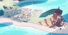 Resultado de imagen para steven universe town background