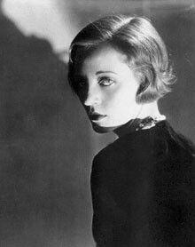 Tallulah Bankhead. 1929.