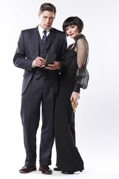 One of the best TV shows! Miss Fisher's Murder Mysteries! Essie Davis & Nathan Page!