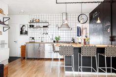 Una cocina con distinción.