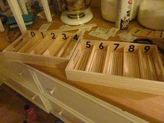 """Making Montessori Ours"": DIY Make Montessori Spindle Boxes"