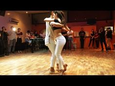 Dubai Latin Fest 2016. Kizomba artists dancing with each other. - YouTube