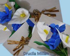 Arteirices da Dru: Buquê Braçada com Flores em EVA
