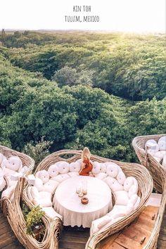 A Look Inside Azulik Tulum Treehouse Eco Resort – architecture Azulik Hotel Tulum, Azulik Tulum, Tulum Mexico Resorts, Cenotes Tulum, Barbados Resorts, Maldives Resort, Vacation Places, Vacation Destinations, Dream Vacations