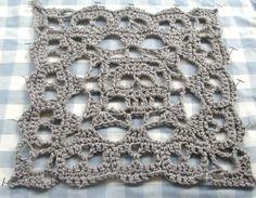 Ravelry: Creepy Granny Skull Infinity Square # 2 pattern by Spider Mambo