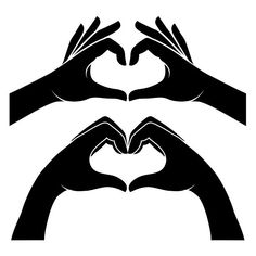 Hands in form of heart #shape#small#red#heart Free Vector Illustration, Heart Illustration, Vector Art, Hands Holding Heart, Heart Shaped Hands, Gas Mask Art, Masks Art, Hand Art, Hand In Hand