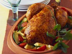 Chicken from the Roman pot - lecker - Hühnerrezepte Easy Summer Meals, Healthy Summer Recipes, Healthy Chicken Recipes, Crockpot Recipes, Easy Meals, Easy Asian Recipes, Asian Cooking, Other Recipes, Eat Smarter