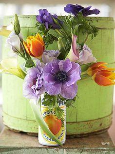 A Frugal Wedding Vase Alternative