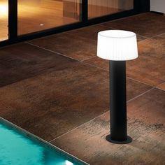 Lampe à poser, GLOUGLOU POL FLOTTEUR, blanc, Ø40cm - Martinelli-luce