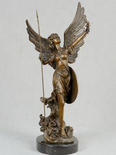 Fairies sculptures | Fairy Sculptures Wingged Greek Goddess Statues [BS-259]