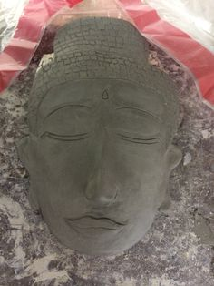 Ceramics- Day 2: clay mask