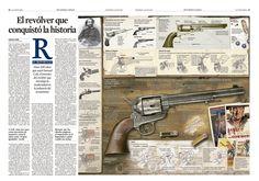 https://flic.kr/p/om5bDW | El revólver que conquistó la historia | Hace 200 años que nació Samuel Colt, el inventor del revólver que introdujo la modernidad en la industria del armamento. Alan Jürgens. La Vanguardia domingo 13 de julio