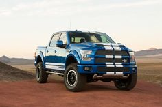 The all-new Shelby F-150 is on display this week at the SEMA show in Las Vegas.