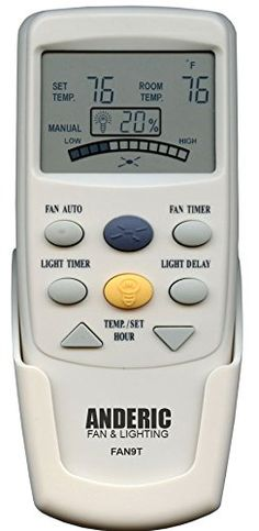 Hampton bay remote control uc7078t with reverse key includes wall anderic replacement fan 9t with fan timer key thermostatic remote control for hampton bay ceiling aloadofball Gallery